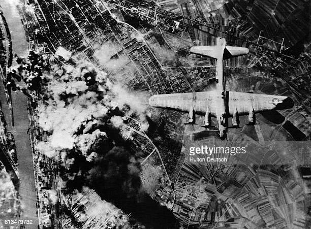 Allied Bombers Attacking Ludwigshaven Plant