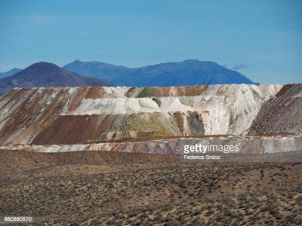 allied nevada-hycroft mine, sulphur, nevada - gold mining stock photos and pictures