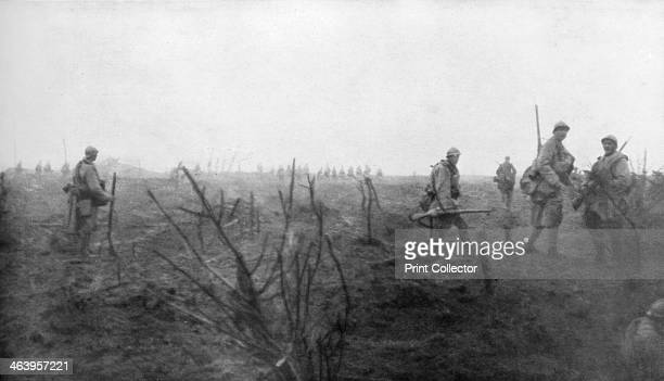Allied troops at the Yser Canal Belgium 31 July 1917 The opening day of the Third Battle of Ypres