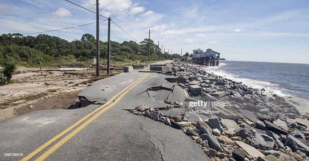 Hurricane Hermine Makes Landfall In Florida : News Photo