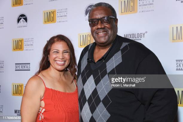 Allison A Taylor and Kokayi Ampah attend the 6th Annual LMGI Awards at The Eli and Edythe Broad Stage on September 21 2019 in Santa Monica California