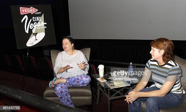 Allison Anders during CineVegas Film Festival 2003 Krispy Kreme Presents Doughnuts With Allison Anders at The Palms Casino Resort in Las Vegas Nevada...
