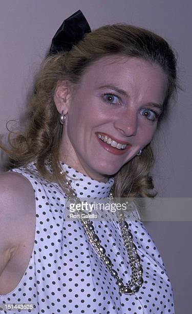 Allison Arngrim attends ChildHelp Benefit Luncheon on May 25 1989 at the Beverly Hills Hotel in Beverly Hills California