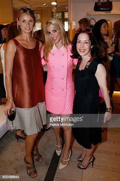 Allison Aston Alison Brod and Sharon Coplan Hurowitz attend ROGER VIVIER hosts luncheon for Children's Health Services at NEW YORKPRESBYTERIAN at...