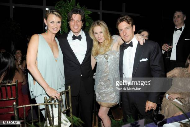 Allison Aston Colin McCabe Rebekah McCabe and Jay Aston attend NEW YORKERS FOR CHILDREN Spring Dinner Dance Presented by AKRIS at The Mandarin...