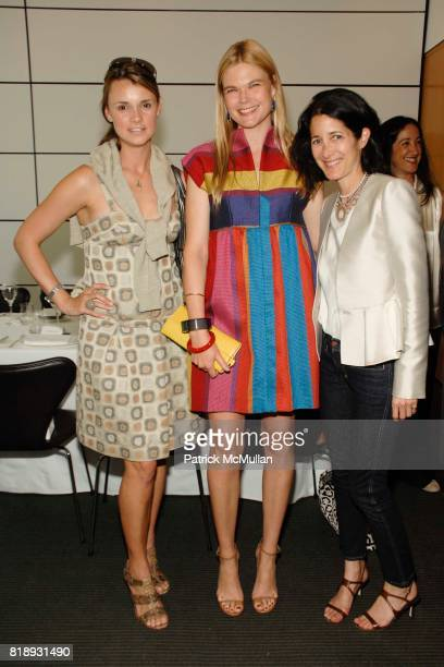 Allison Aston Kate Schelter and Amanda Ross attend Guy Laroche Luncheon at The Modern on May 20 2010 in New York City