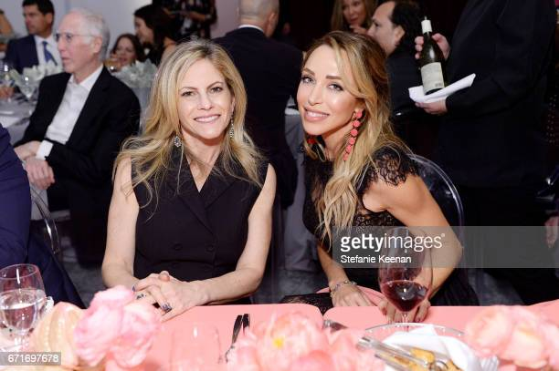 Allison Berg and Katia Francesconi attend LACMA 2017 Collectors Committee Gala at LACMA on April 22 2017 in Los Angeles California