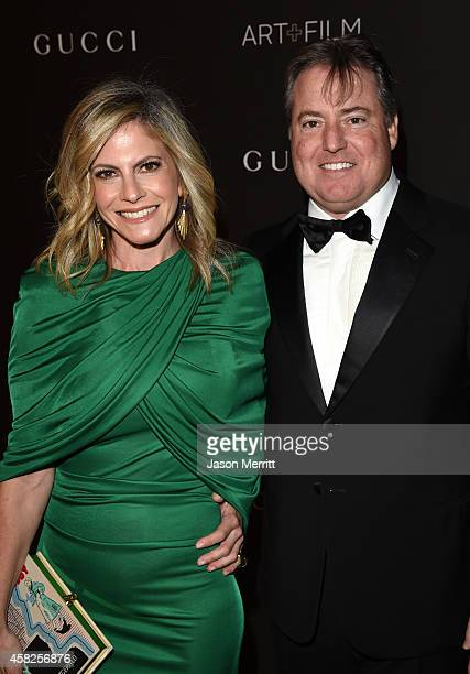 Allison Berg and Larry Berg attend the 2014 LACMA Art Film Gala honoring Barbara Kruger and Quentin Tarantino presented by Gucci at LACMA on November...