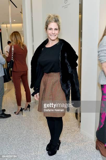 Allison Berg attends Barneys New York Katherine Ross Alexia Niedzielski Celebrate Fabrizio Viti at Barneys New York Beverly Hills on February 23 2017...