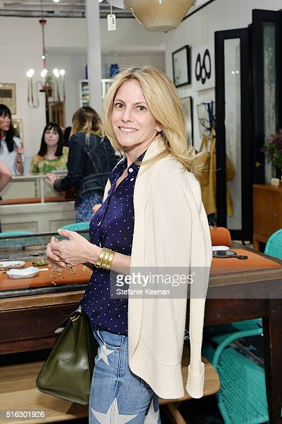 Allison Berg attends Sarah Hendler Estate Debuts At Nickey Kehoe/NK Shop on March 17 2016 in Los Angeles California