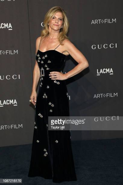 Allison Berg attends the 2018 LACMA ArtFilm Gala at LACMA on November 3 2018 in Los Angeles California