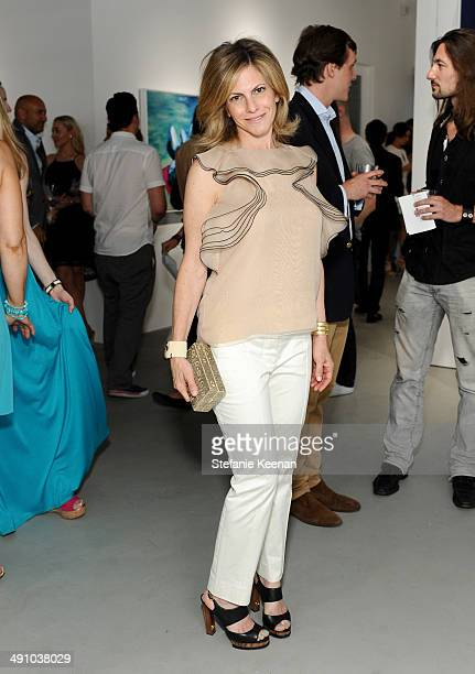 Allison Berg attends the grand opening of De Re Gallery on May 15 2014 in West Hollywood CA