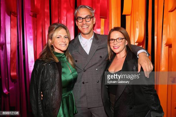 Allison Berg David Morehouse and Nancy Leiner attend AFIM Celebracion at Cipriani 42nd Street on October 2 2017 in New York City