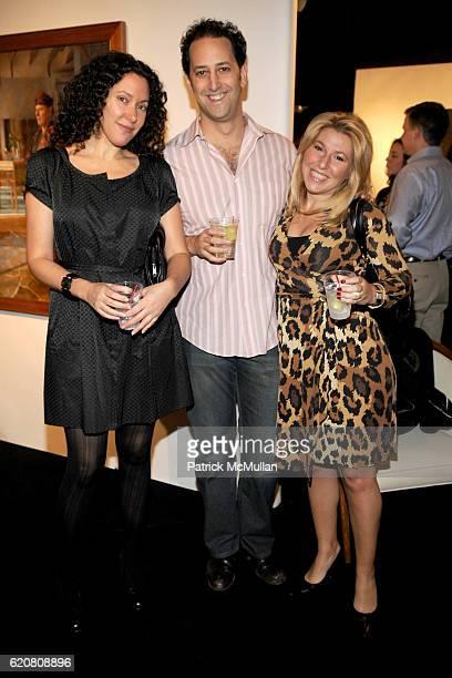 Allison Berg Johan Petchesky and Jen Saez attend WESTCHESTER ENTERPRISES Presents The New York Art Design Fair at Park Avenue Armory on March 27 2008...