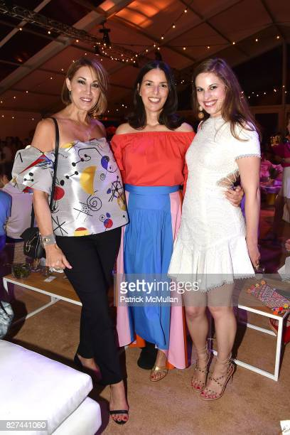 Allison Bruhn Ann Caruso and Delia Folk attend Sixth Annual Hamptons Paddle and Party for Pink Benefitting the Breast Cancer Research Foundation at...