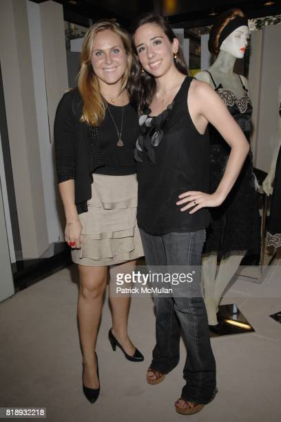 Allison Cantor and Alex Becker attend PRADA NEW YORKERS FOR CHILDREN Host Cocktails for the NYFC 2010 Fall Gala at Prada Boutique on May 20 2010 in...