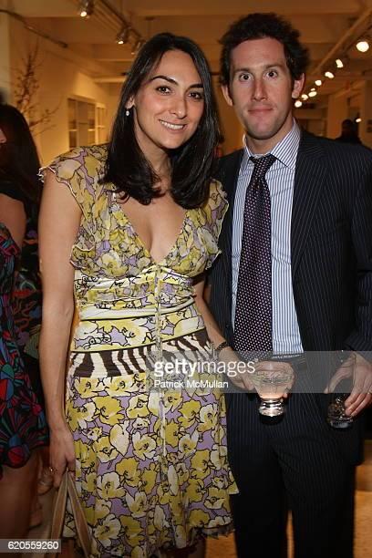 Allison Comer and Jason Rifkin attend DOMINO Magazine Party Hosted by Deborah Needleman Beth Fuchs Brenner and Jim Druckman at New York Design Center...