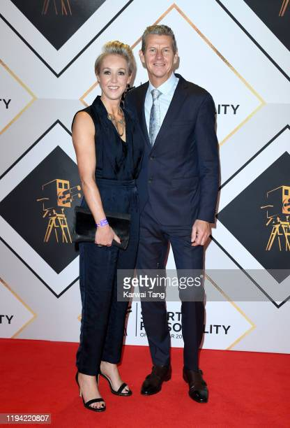 Allison Curbishley and Steve Cram attend the BBC Sport Personality of the Year 2019 at PJ Live Arena on December 15 2019 in Aberdeen Scotland