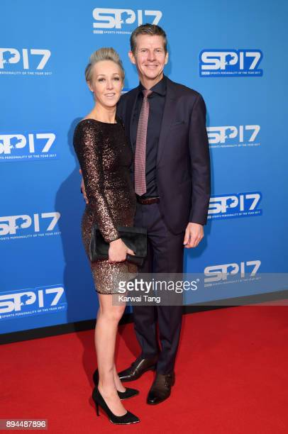 Allison Curbishley and Steve Cram attend the BBC Sports Personality of the Year 2017 Awards at the Echo Arena on December 17 2017 in Liverpool England