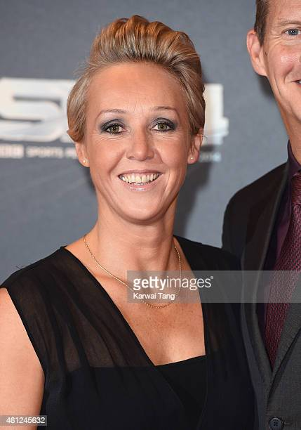 Allison Curbishley attends the BBC Sports Personality of the Year awards at The Hydro on December 14 2014 in Glasgow Scotland