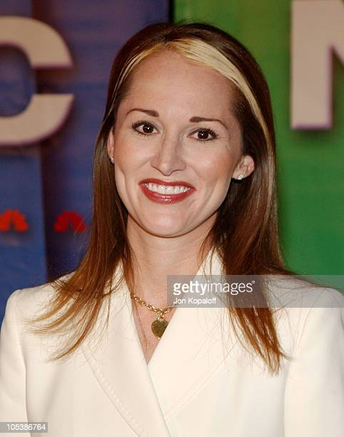 Allison DuBois during 2005 NBC Winter TCA All Star Party at Hard Rock Cafe in Universal City California United States