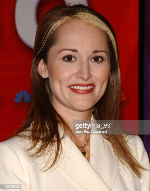 Allison DuBois during NBC Winter Press Tour Party Arrivals at Universal CityWalk in Universal City California United States