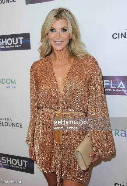 Allison Dunbar arrives for the Premiere Of Flashout held at Arena Cinelounge on March 22 2019 in Hollywood California