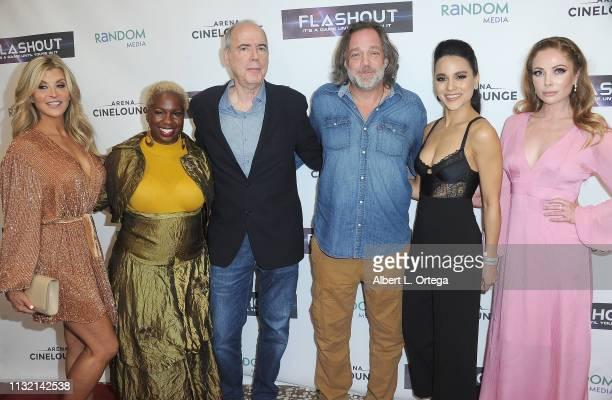Allison Dunbar Cheryl Francis Hamilton Richard Lerner Jonathan Goldstein Maya Stojan Malea Rose and Aria Sirvaittis arrive for the Premiere Of...