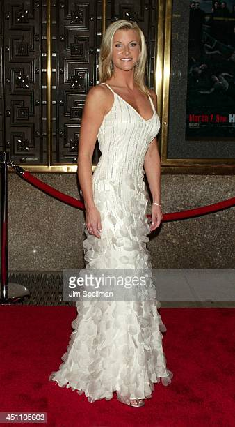 Allison Dunbar during The Sopranos Fifth Season Premiere at Radio City Music Hall in New York City New York United States