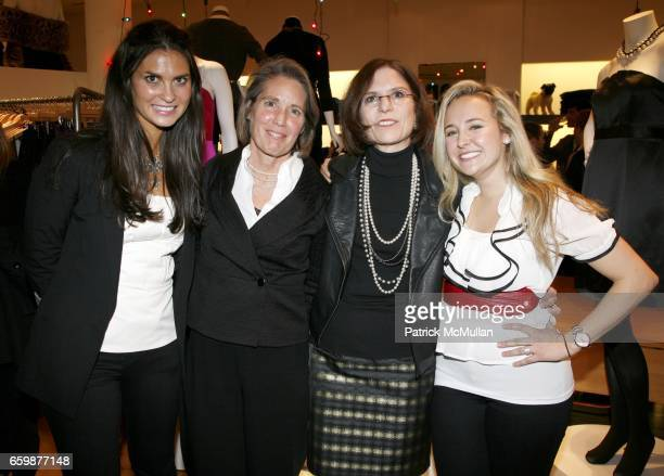 Allison Fast Cheryl Rothrogers Linda Heasley and Alexa von Tobel attend The LearnVest Launch Party at The Limited PopUp Store on December 2 2009 in...