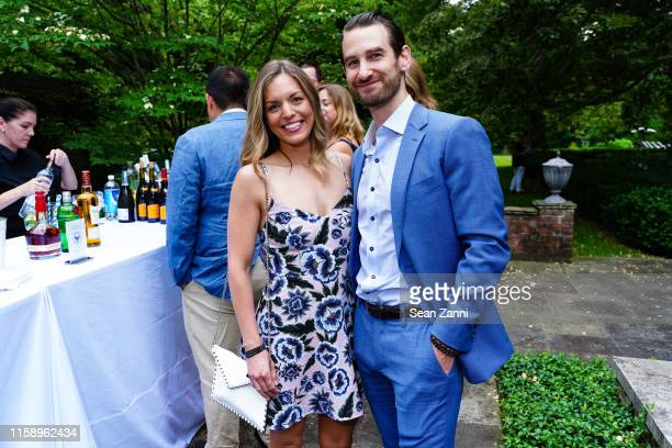 Allison Goldberg and Troy Goldberg attend A Country House Gathering To Benefit Preservation Long Island on June 28 2019 in Locust Valley New York