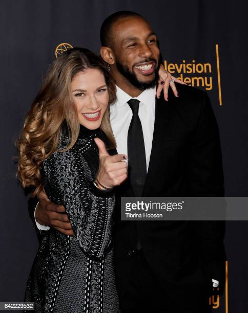 """Allison Holker and Stephen """"tWitch"""" Boss attends Television Academy's 'Whose Dance Is It Anyway?' celebration at Saban Media Center on February 16,..."""