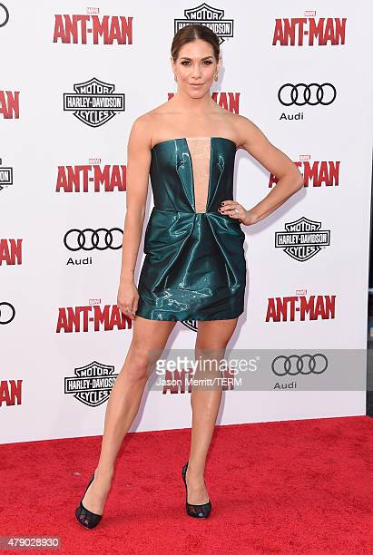Allison Holker arrives at the Los Angeles Premiere of Marvel Studios 'AntMan' at Dolby Theatre on June 29 2015 in Hollywood California