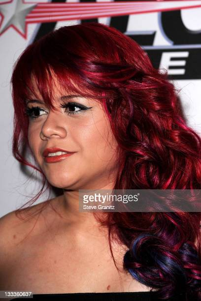 Allison Iraheta arrives at the 52nd Annual GRAMMY Awards Salute To Icons Honoring Doug Morris held at The Beverly Hilton Hotel on January 30 2010 in...
