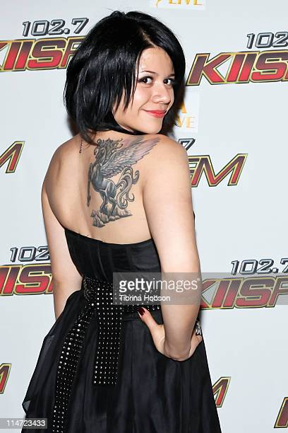 Allison Iraheta arrives to the KIIS FM's 10th Annual 'American Idol' Finale Viewing Party at the Regal 14 LA Live Downtown on May 25 2011 in Los...