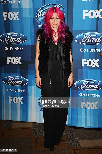 Allison Iraheta attends FOX's 'American Idol' finale for the farewell season at Dolby Theatre on April 7 2016 in Hollywood California