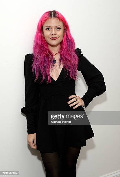 Allison Iraheta of Halo Circus celebrates the Los Angeles launch of Moet Ice Imperial Rose at the Riviera White House on August 11 2016 in Pacific...