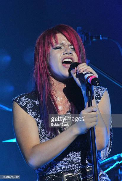 Allison Iraheta opens for Adam Lambert at St George Theatre on August 24 2010 in New York City