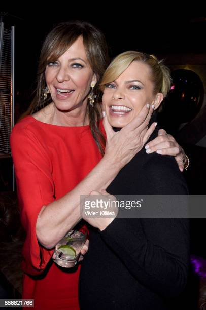 Allison Janney and Jaime Pressly attend NEON and 30WEST Present the Los Angeles Premiere of 'I Tonya' Supported By Svedka on December 5 2017 in Los...
