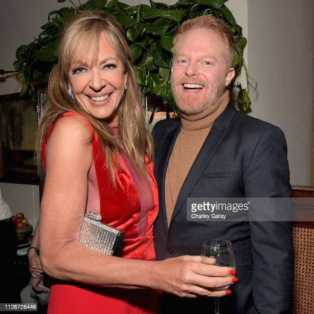 Allison Janney and Jesse Tyler Ferguson attend the Cadillac Oscar Week Celebration at Chateau Marmont on February 21 2019 in Los Angeles California