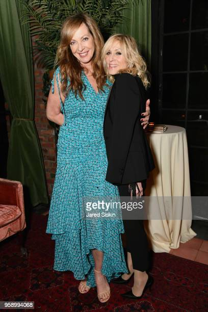 Allison Janney and Judith Light attend the Gersh Upfronts Party 2018 at The Bowery Hotel on May 15 2018 in New York City