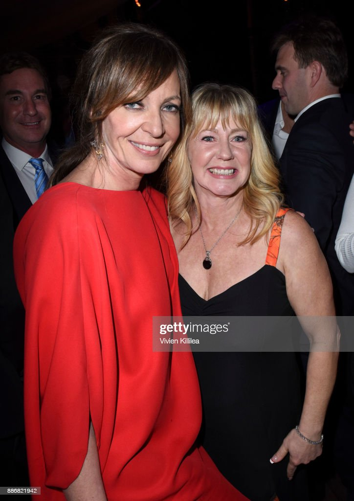 Allison Janney and Tonya Harding attend NEON and 30WEST Present the Los Angeles Premiere of 'I, Tonya' Supported By Svedka on December 5, 2017 in Los Angeles, California.