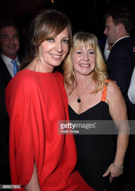 Allison Janney and Tonya Harding attend NEON and 30WEST Present the Los Angeles Premiere of 'I Tonya' Supported By Svedka on December 5 2017 in Los...