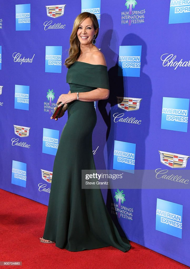 Allison Janney arrives at the 29th Annual Palm Springs International Film Festival Film Awards Gala at Palm Springs Convention Center on January 2, 2018 in Palm Springs, California.