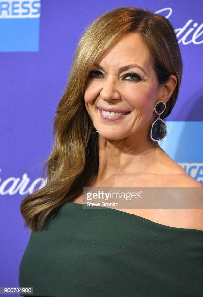 Allison Janney arrives at the 29th Annual Palm Springs International Film Festival Film Awards Gala at Palm Springs Convention Center on January 2...