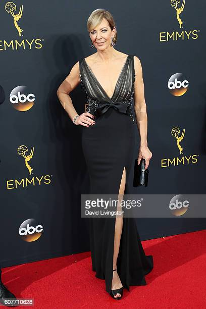 Allison Janney arrives at the 68th Annual Primetime Emmy Awards at the Microsoft Theater on September 18 2016 in Los Angeles California