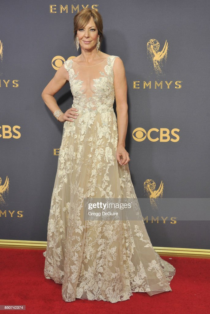 Allison Janney arrives at the 69th Annual Primetime Emmy Awards at Microsoft Theater on September 17, 2017 in Los Angeles, California.