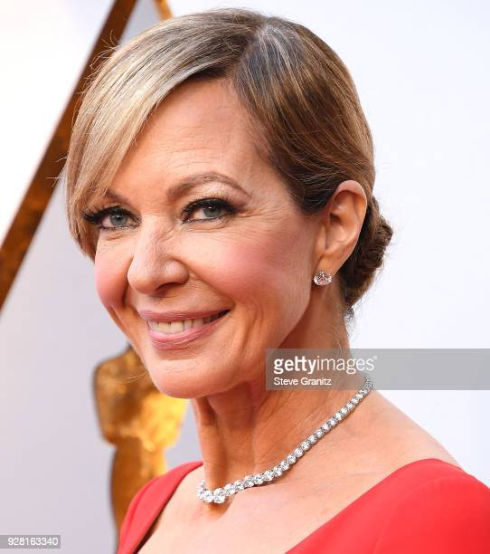 Allison Janney arrives at the 90th Annual Academy Awards at Hollywood Highland Center on March 4 2018 in Hollywood California