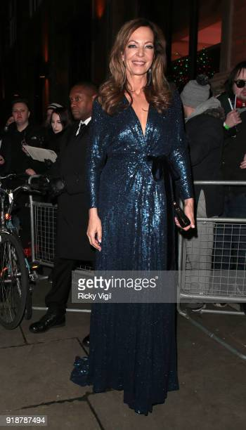 Allison Janney arriving at the 'I Tonya' photocall at The Washington Mayfair hotel on February 15 2018 in London England
