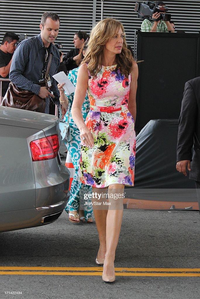 Allison Janney as seen on June 23, 2013 in Los Angeles, California.